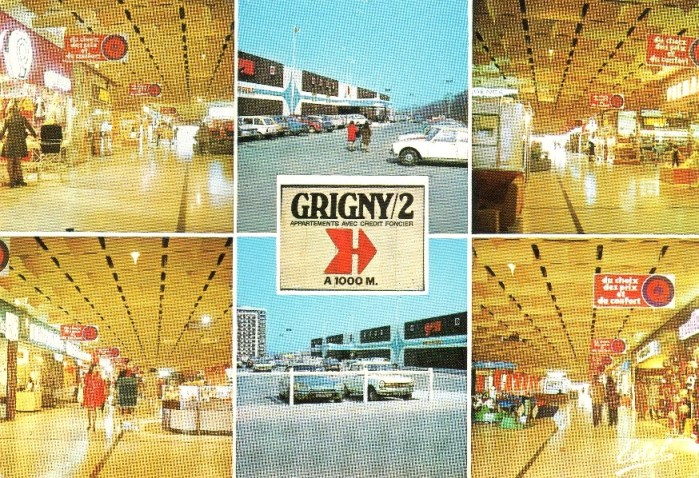 centre commercial Grigny2
